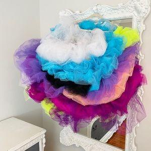 SALE Rainbow CLOUD MONSTER TUTU Skirt